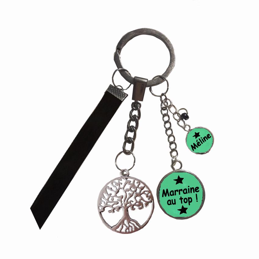 Porte-clé arbre de vie